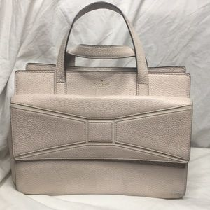 Pale Pink leather satchel by Kate Spade ♠️